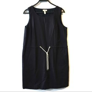 Land's End Navy Canvas Dress
